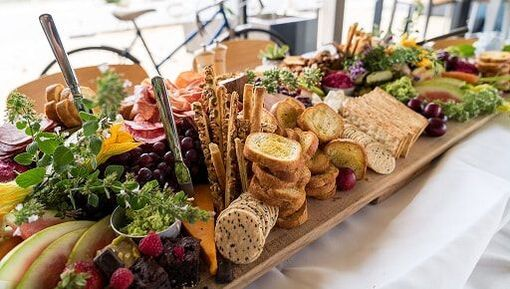 Grazing Platter for nibbles from Fresh Balance Catering Cambridge